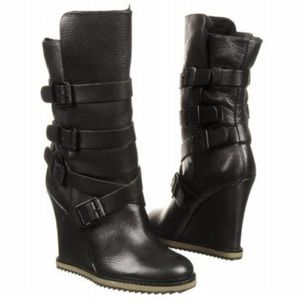 Sam Edelman wedge boots